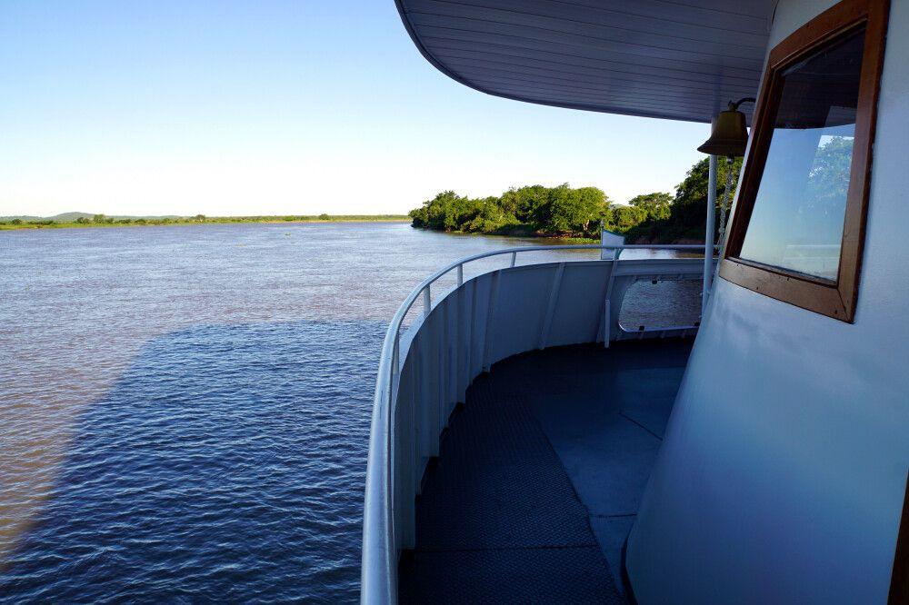 Flusskreuzfahrt auf dem Rio Paraguay
