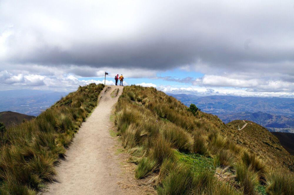 Wanderung auf dem Rucu Pichincha