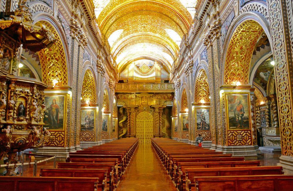 Kirche in Quito