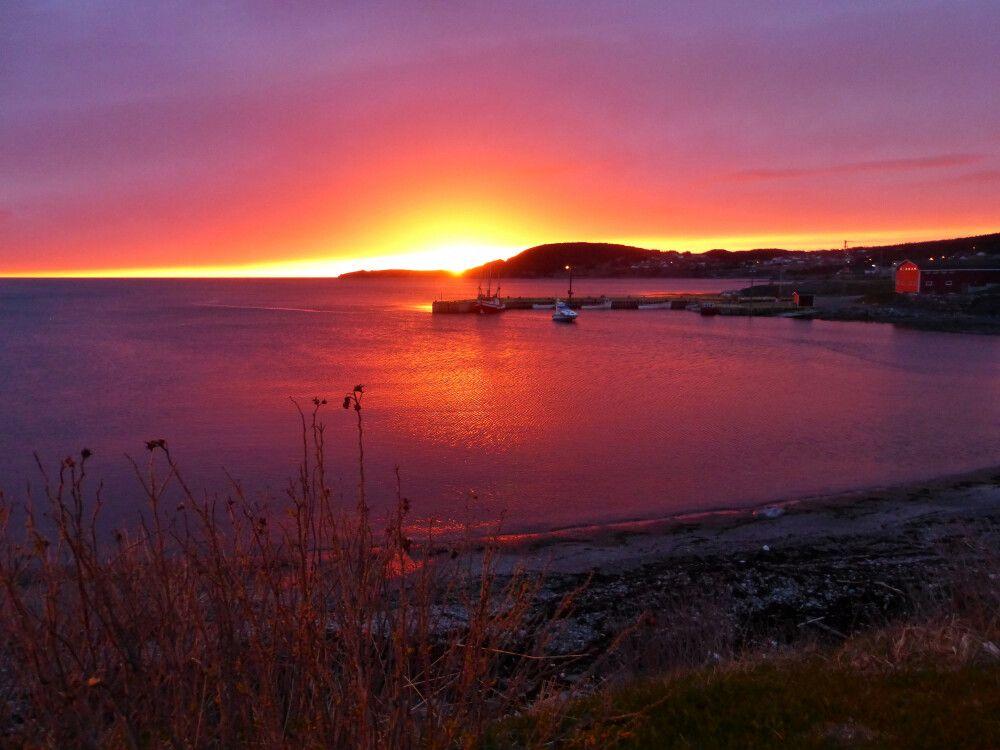 Sonnenuntergang, Rocky Harbour, Gros-Morne-Nationalpark