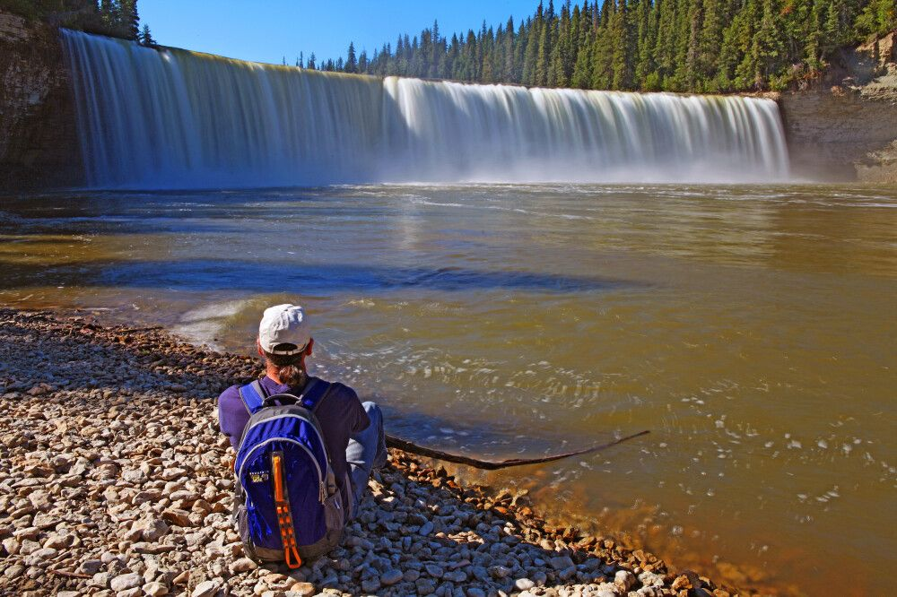 Lady Evelyn Falls bei Fort Providence