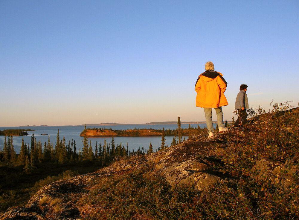 Am Great Slave Lake bei Yellowknife