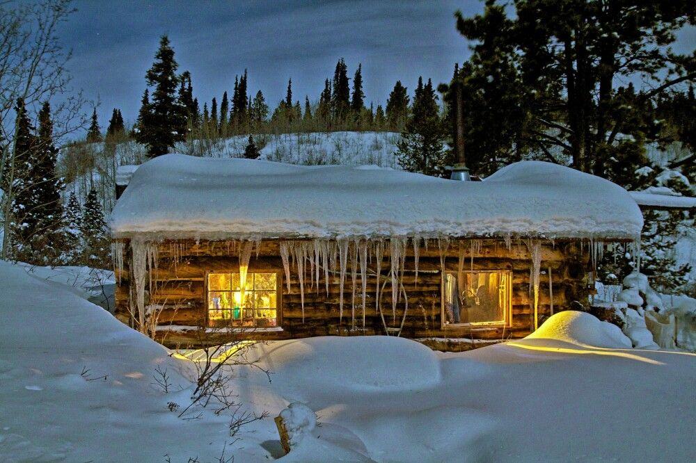 Gemütliche Hütte im Coal Lake Camp
