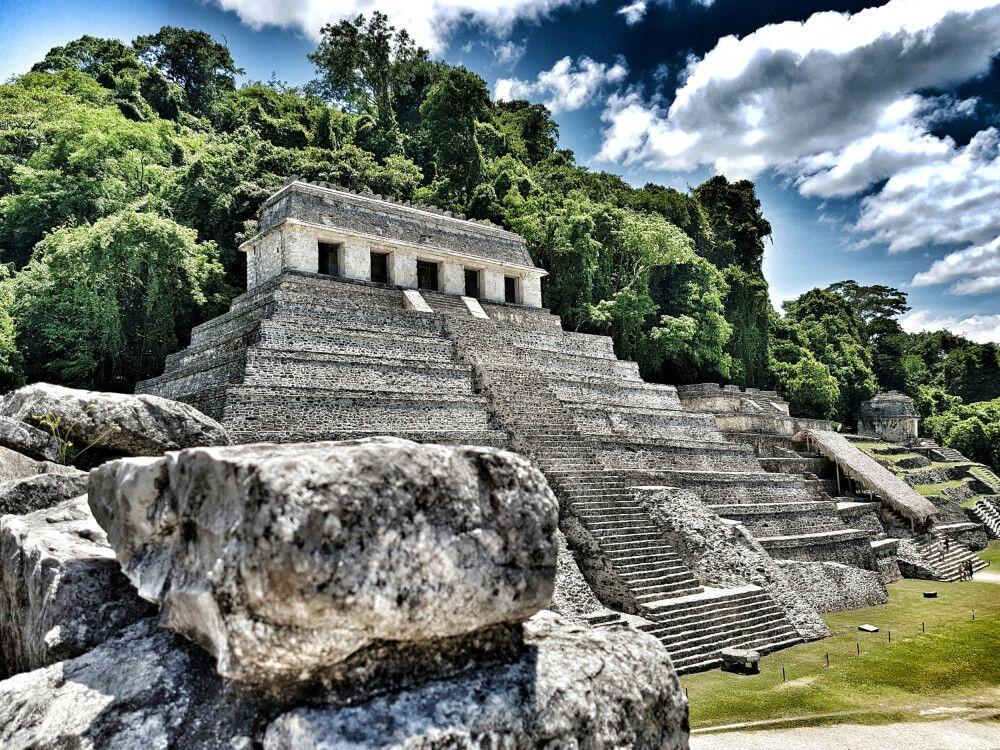 Tempel der Inschriften in Palenque