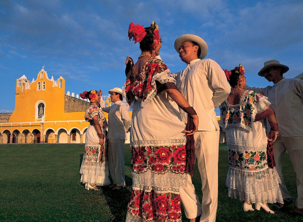 Gelebte Tradition in Izamal