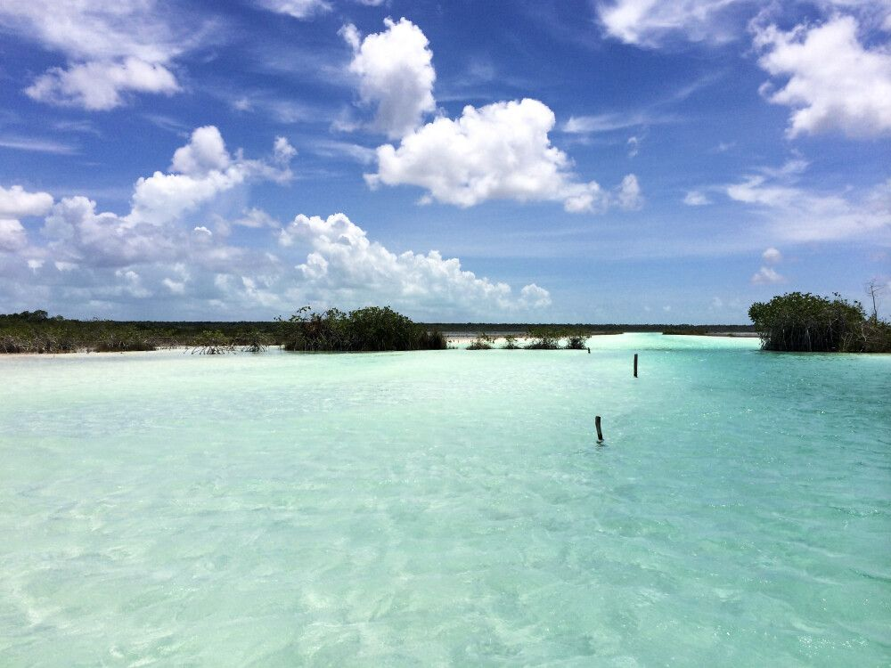 Zauberhafte Laguna auf Yucatan