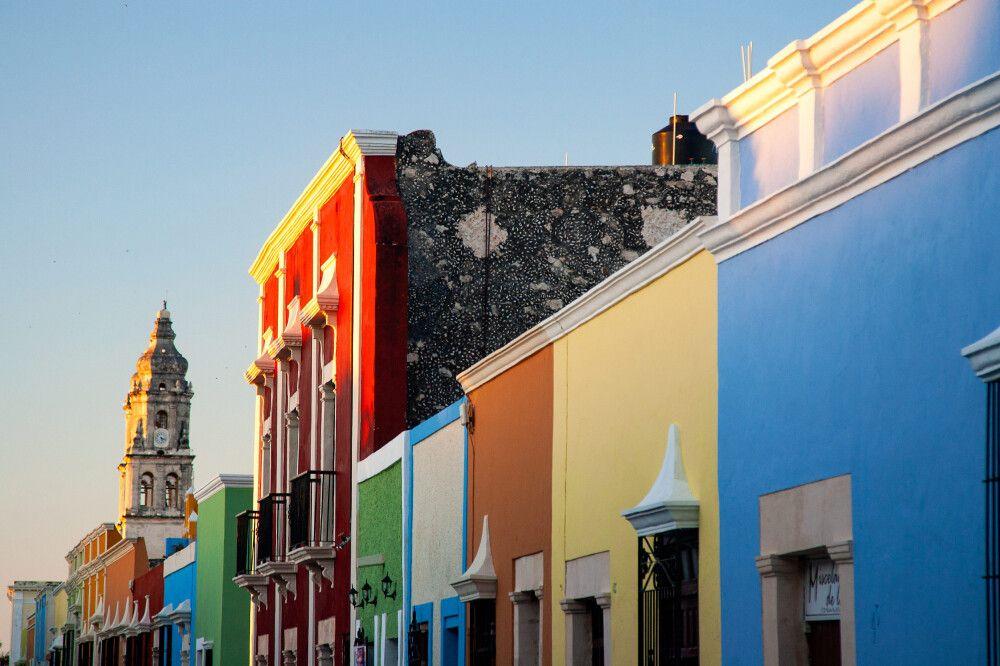 Abendstimmung in Campeche