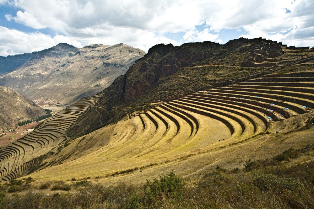 Inka-Anlage Pisac
