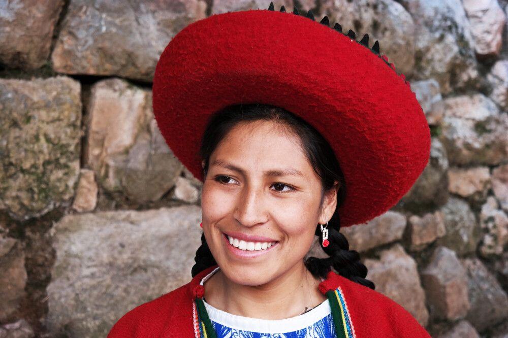 Quechua Frau