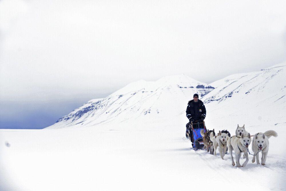 Unterwegs in Spitzbergen