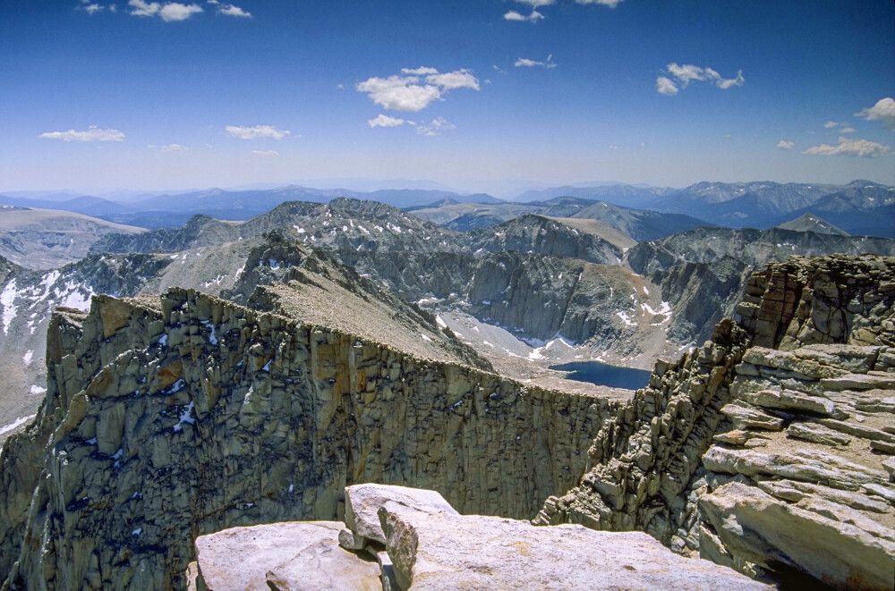 Auf dem Gipfel des Mount Dana, Yosemite-Nationalpark, Kalifornien