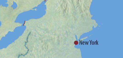 Karte Reise USA   New York New York! New York! 2020