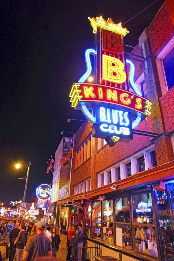 BB King's Blues Club, Beale Street, Memphis, Tennessee